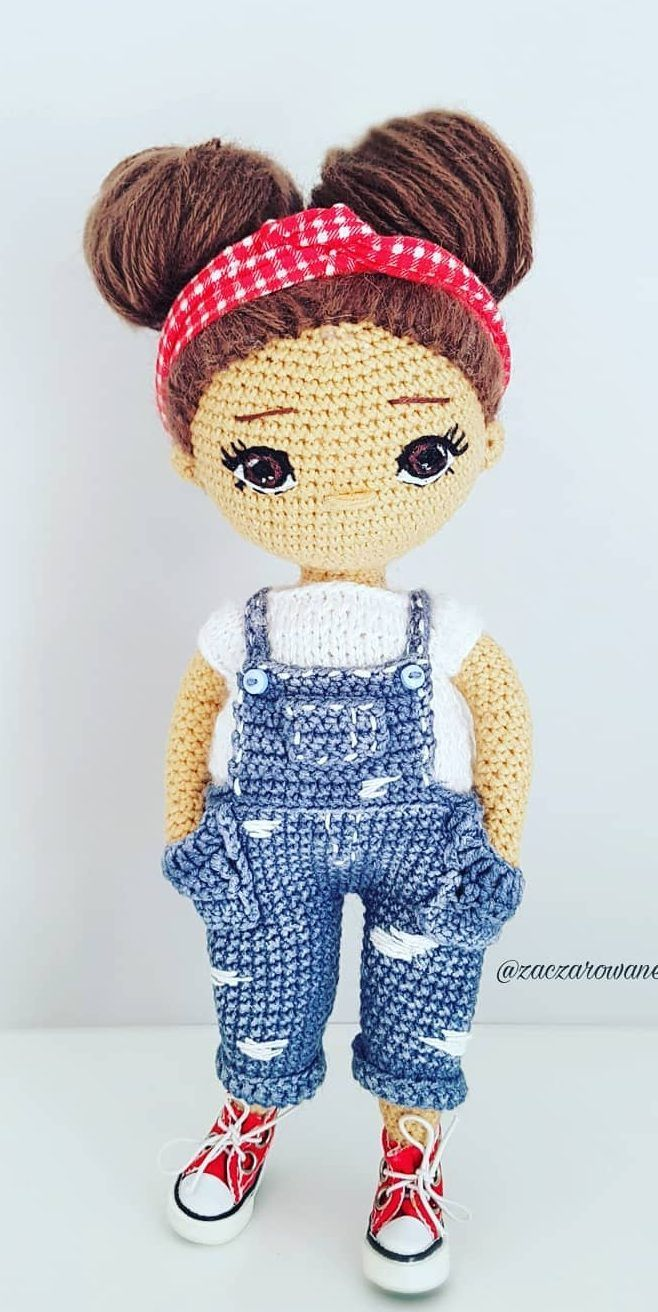 38 Adorable Crochet Amigurumi Dolls for This Season 2019 - Page 18 of 38 #crochetdoll
