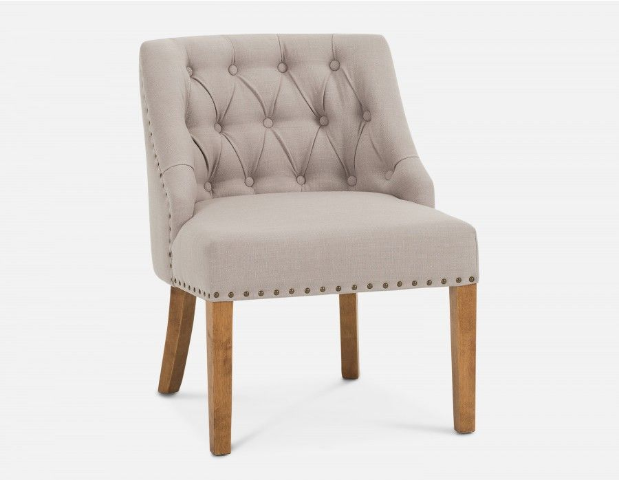Reese Armchair Beige In 2020 Armchair Upholstered Arm Chair