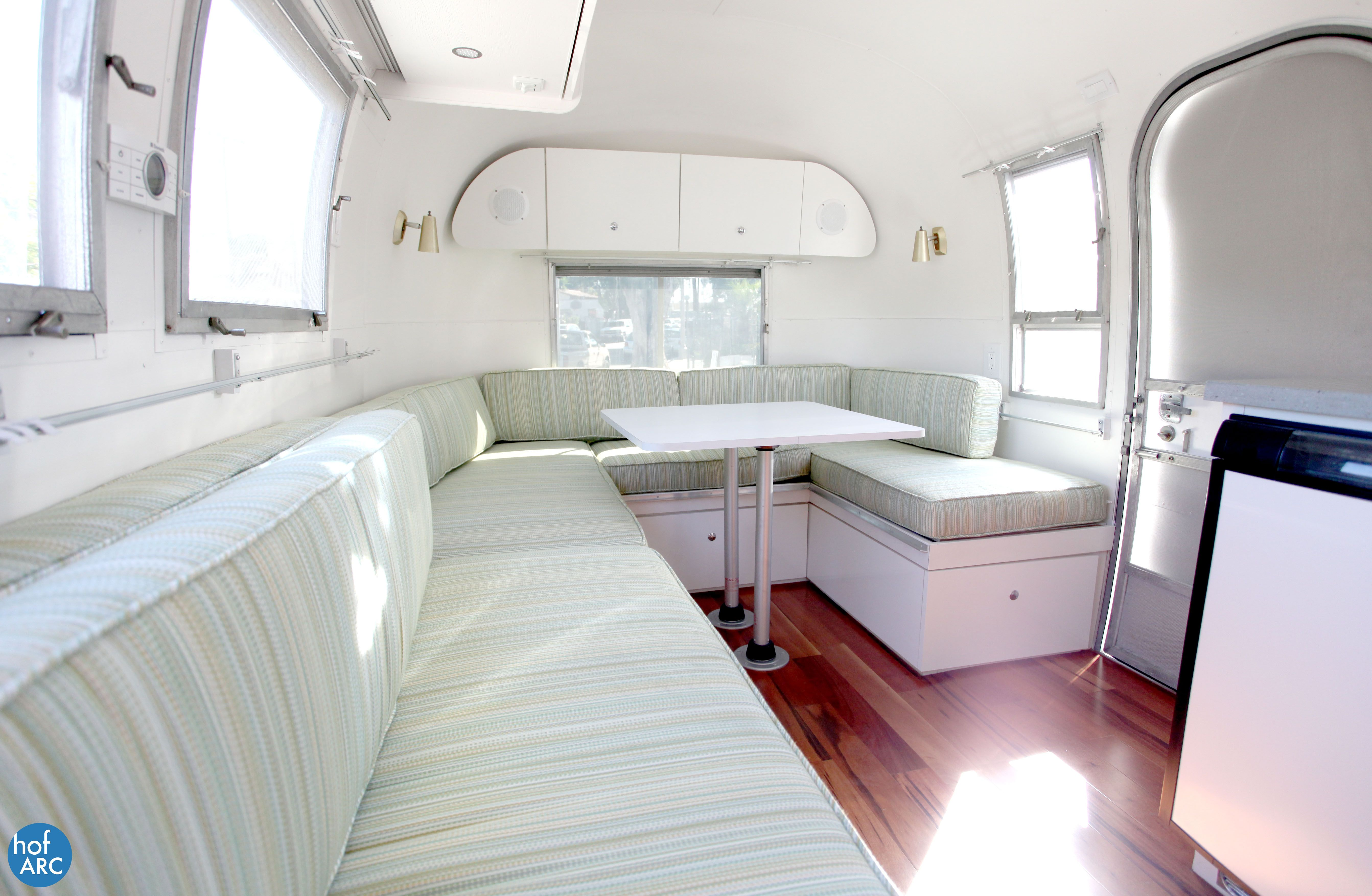 1967 Airstream Globetrotter Alice renovated by HofArc. | Airstreams ...