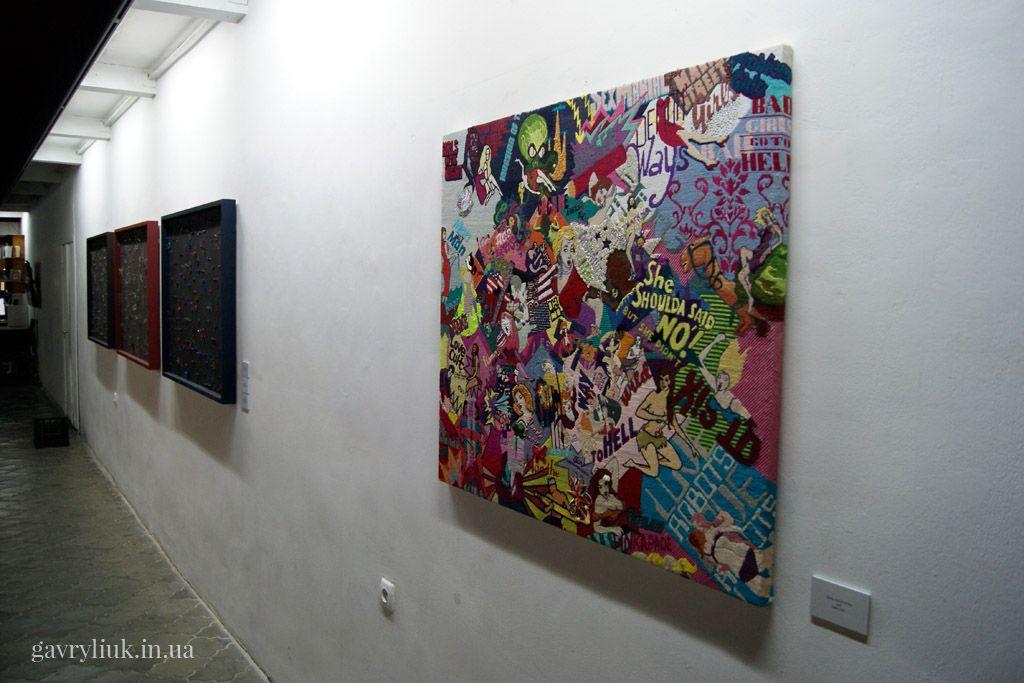 Дзиґа - Kunszt7, Sylwia Aniszewska - вишитий образ