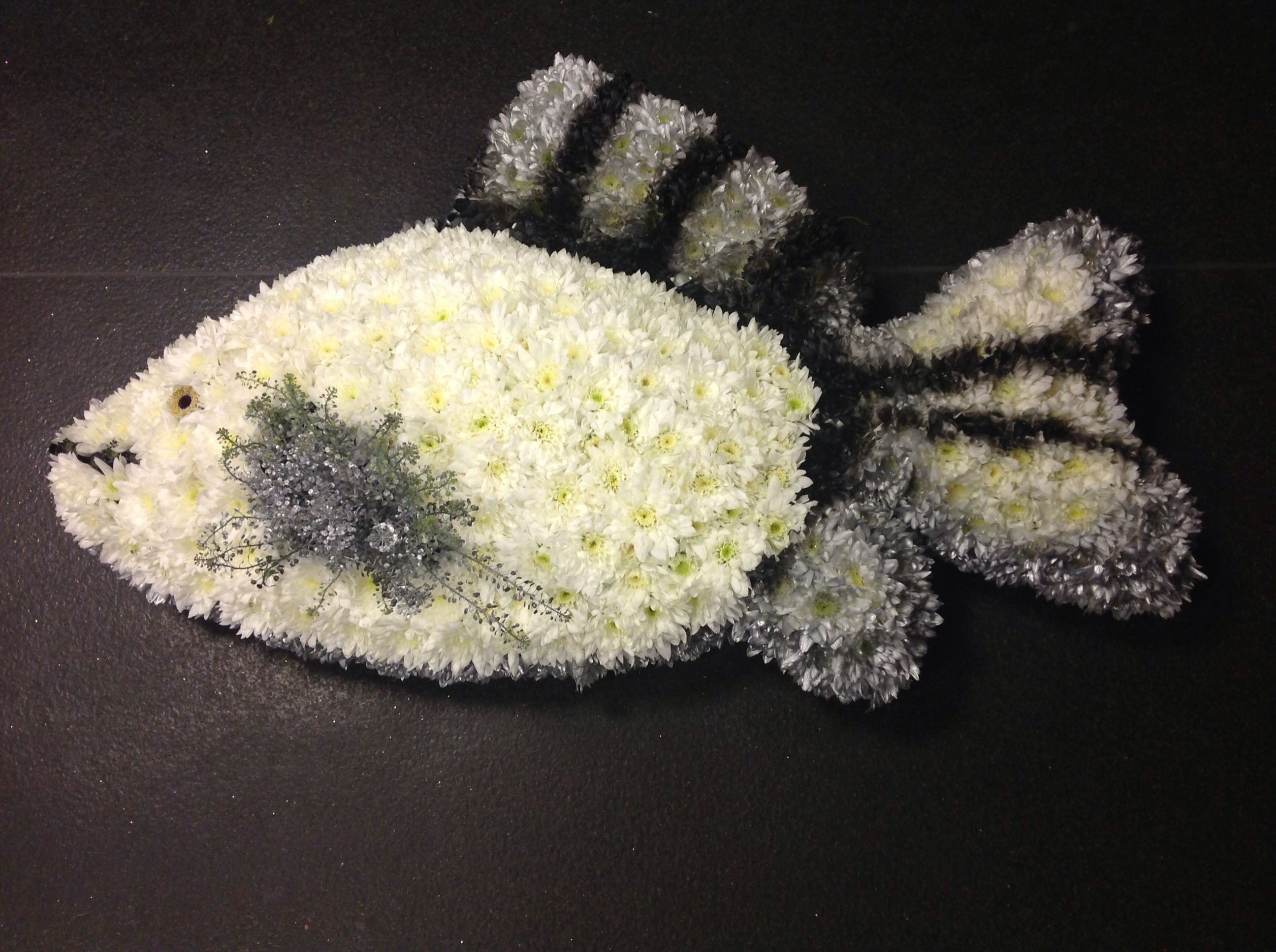 Fish made by tayler james flowers funeral ideas pinterest fish fish made by tayler james flowers izmirmasajfo Gallery