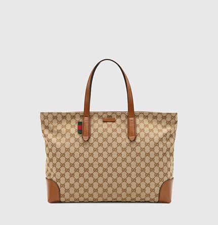 bf4f54dfb Gucci - large original GG canvas tote 308928F4CSN8527   boutique ...