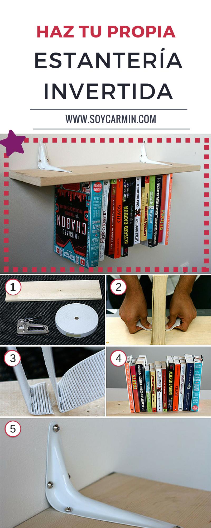 Como Sujetar Libros En Una Estanteria