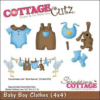 CottageCutz Die 4X4 Baby Boy Clothes