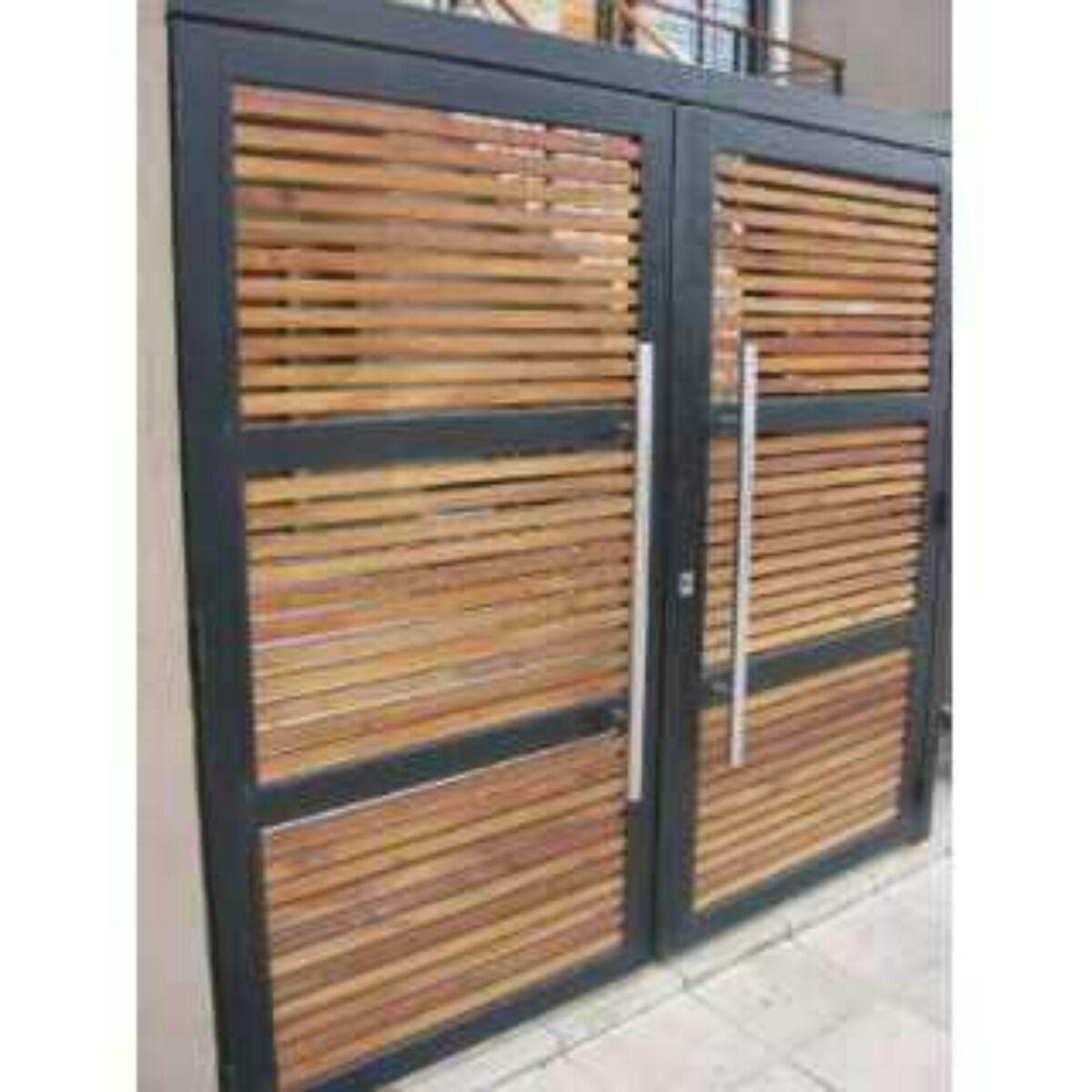 Modelos de portones buscar con google ideas esmeralda for Puertas y portones de madera
