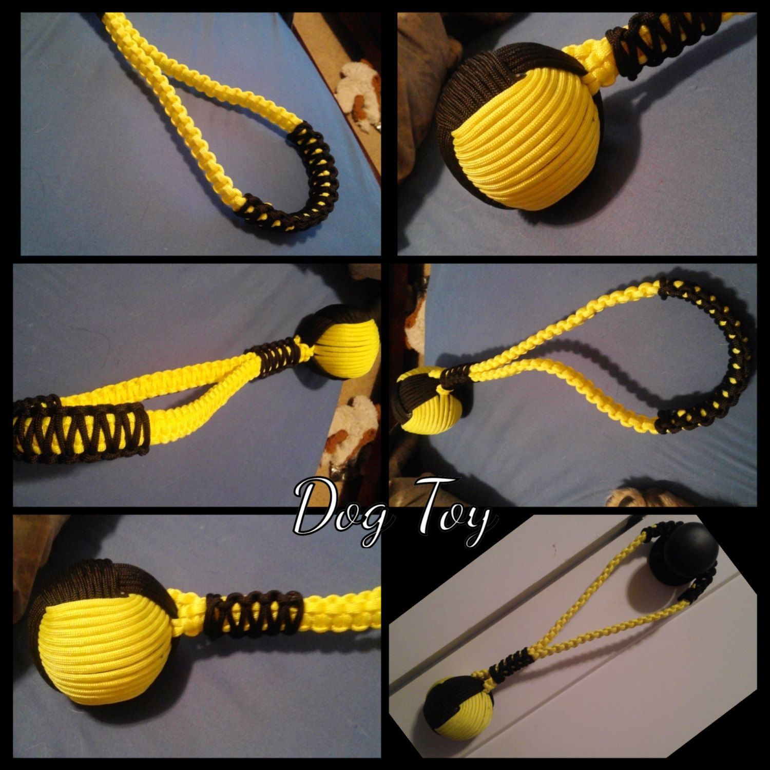 Paracord Dog Toy By Plumwhitty On Etsy
