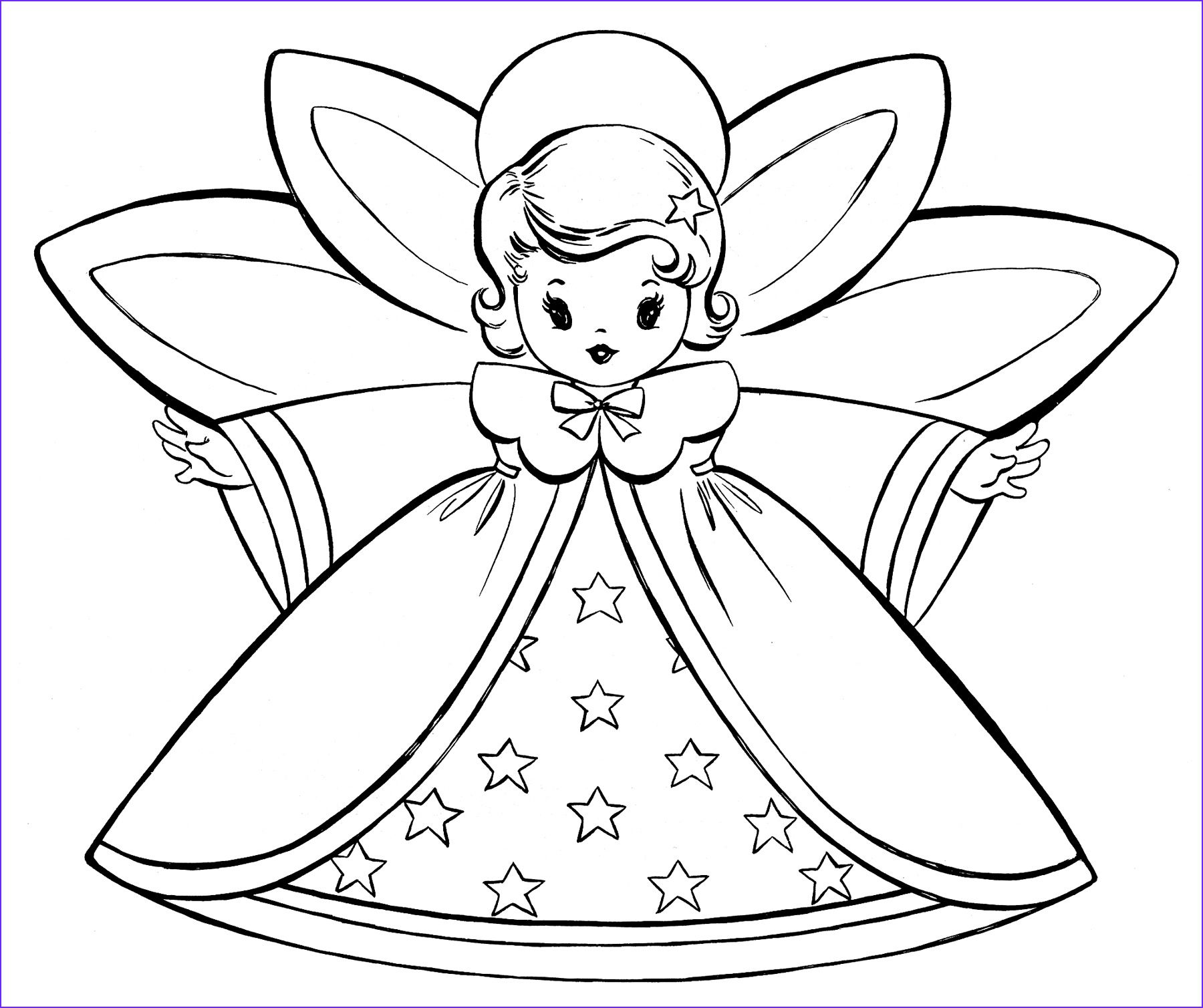 15 cool christmas angel coloring pages photos in 2020