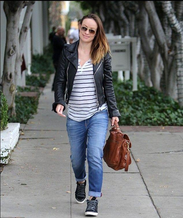Pregnant jeans