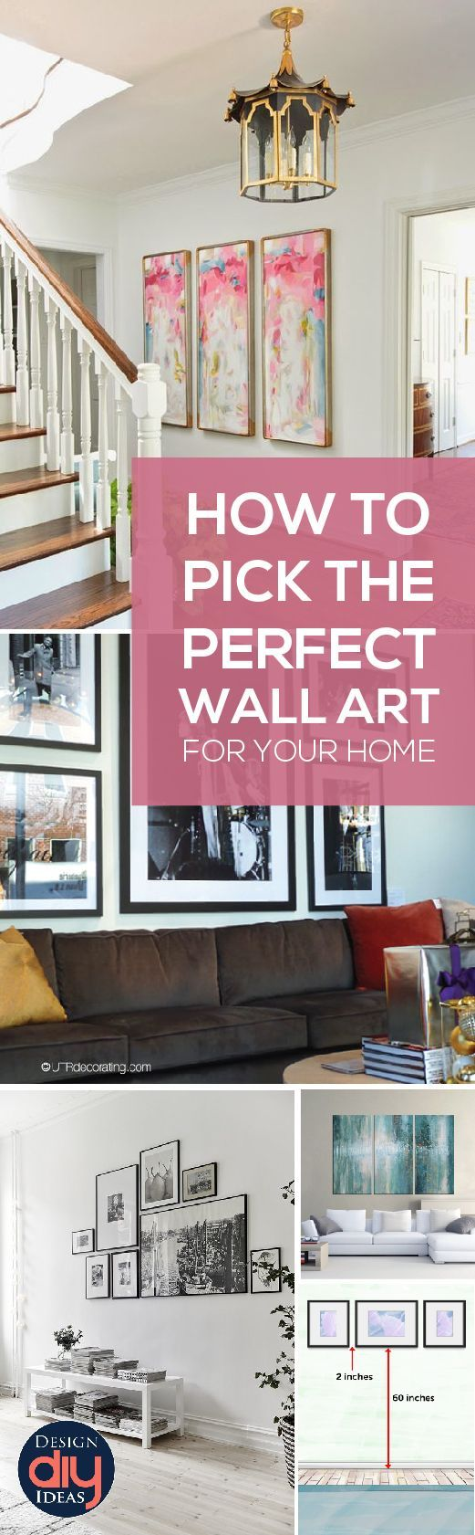 Diy home decor ideas for wall art art can pull a room together but
