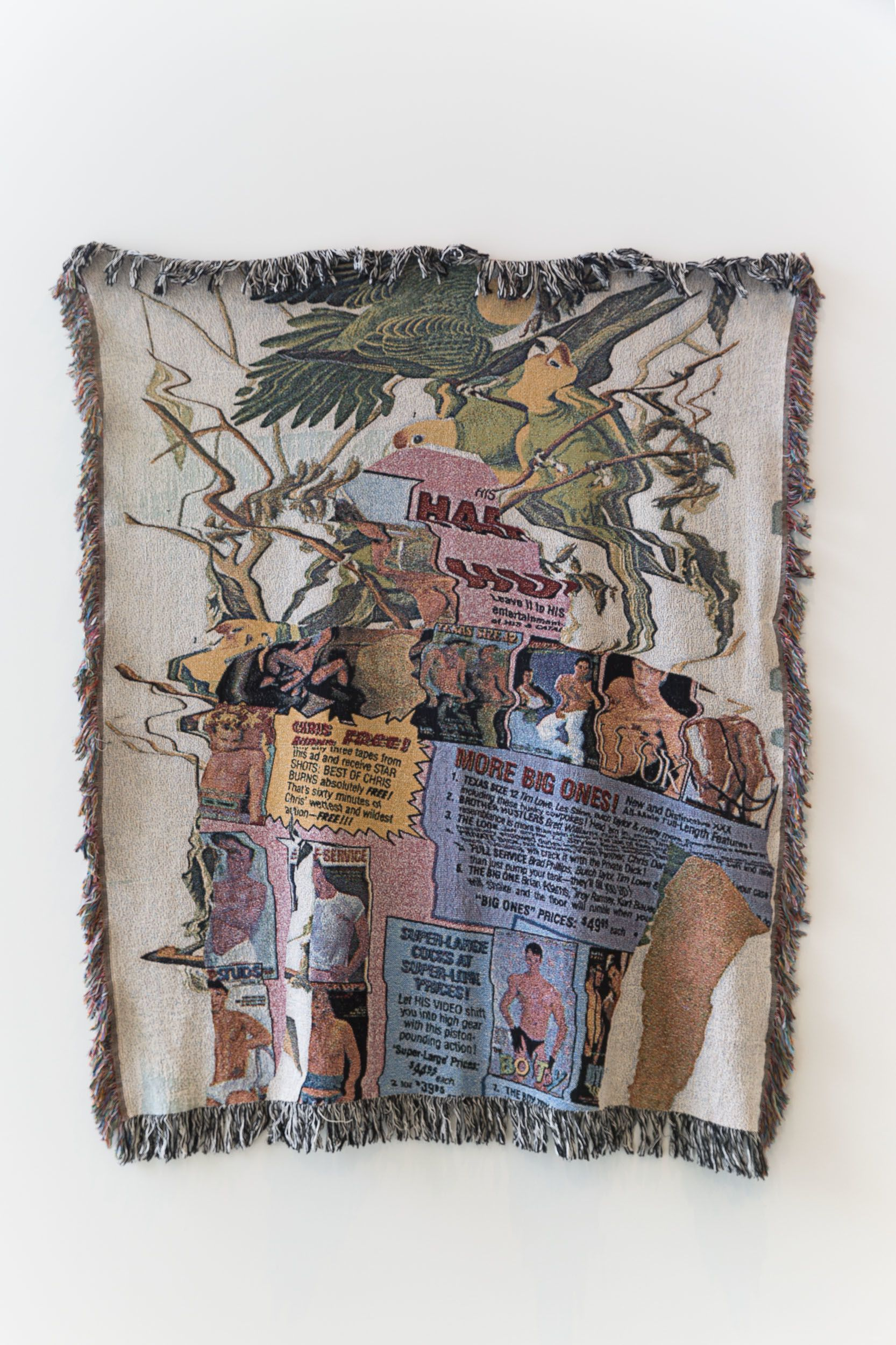 Gray wielebinski with images outdoor blanket graphic