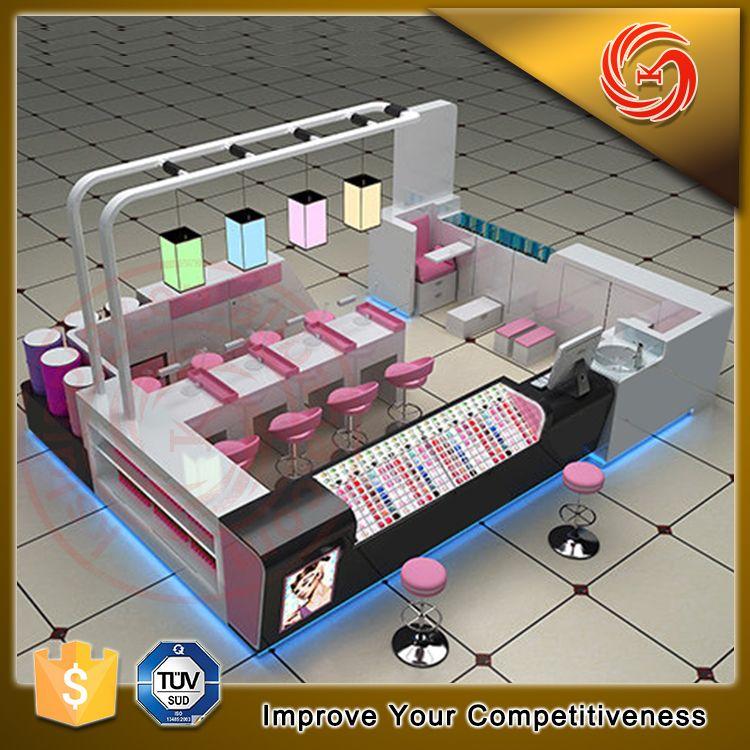 Nail Art Spa Boutik Mall: Pin By Display Racks/ Shop Fixtures From KSL--factory