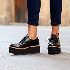 PlataformaLos Mejores Negros Modelos Planos Con Zapatos PN8nmOvwy0