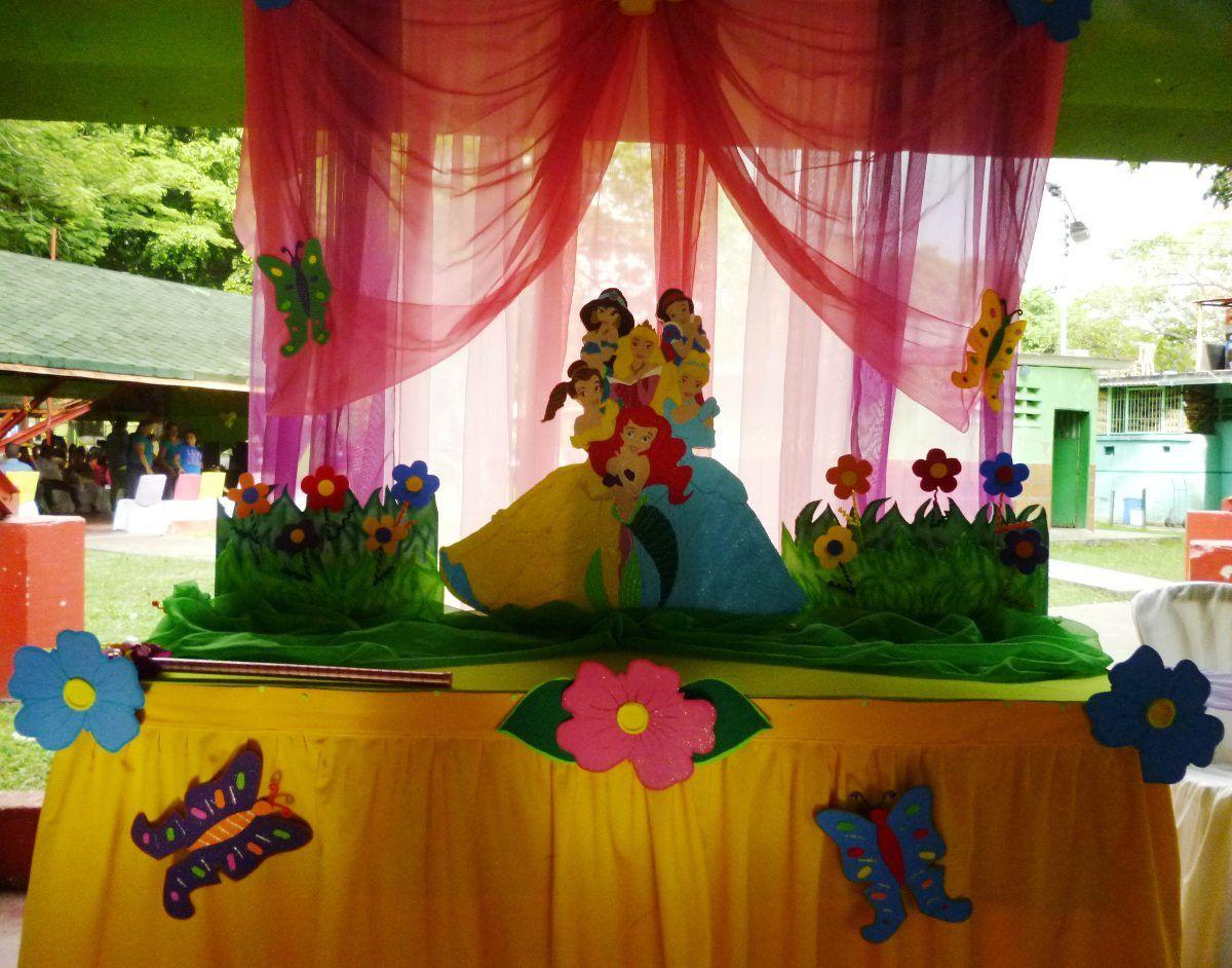 Decoracion de fiestas con tela servicios fiestas y - Decoracion de habitaciones infantiles nina ...