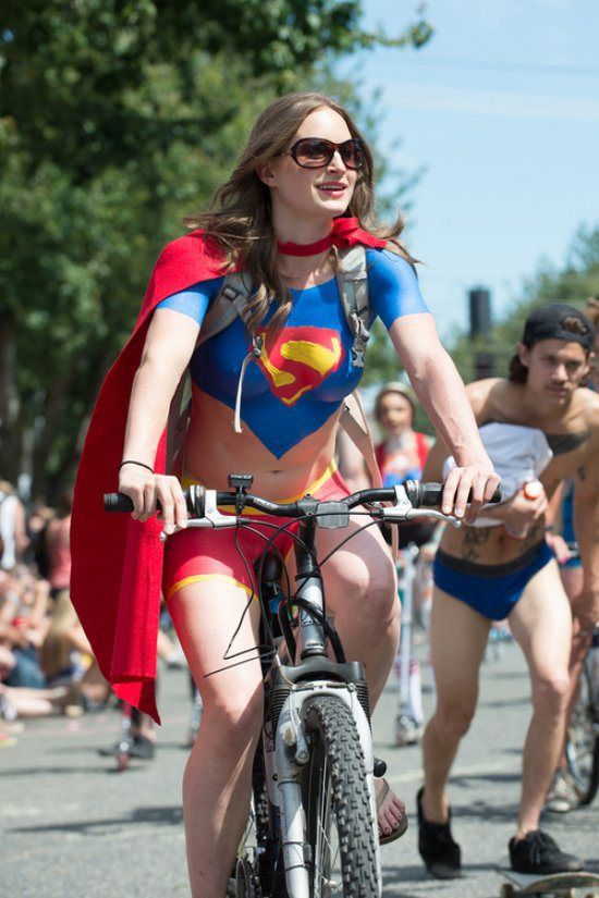 Need Someone To Ride With 40 Photos  Bicycle Clothing, Bikini Poses, Superman Costumes-8570