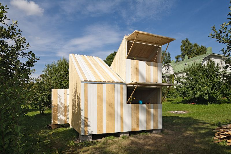 Ta.Ta. Unconventional Design For Kids: PLAYHOUSE IN FINLAND