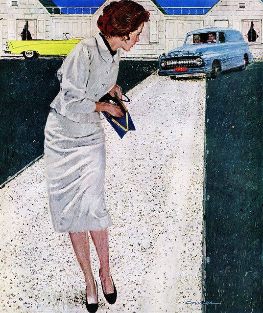 Mac Connor | Saturday Evening Post | 60s art, Illustration