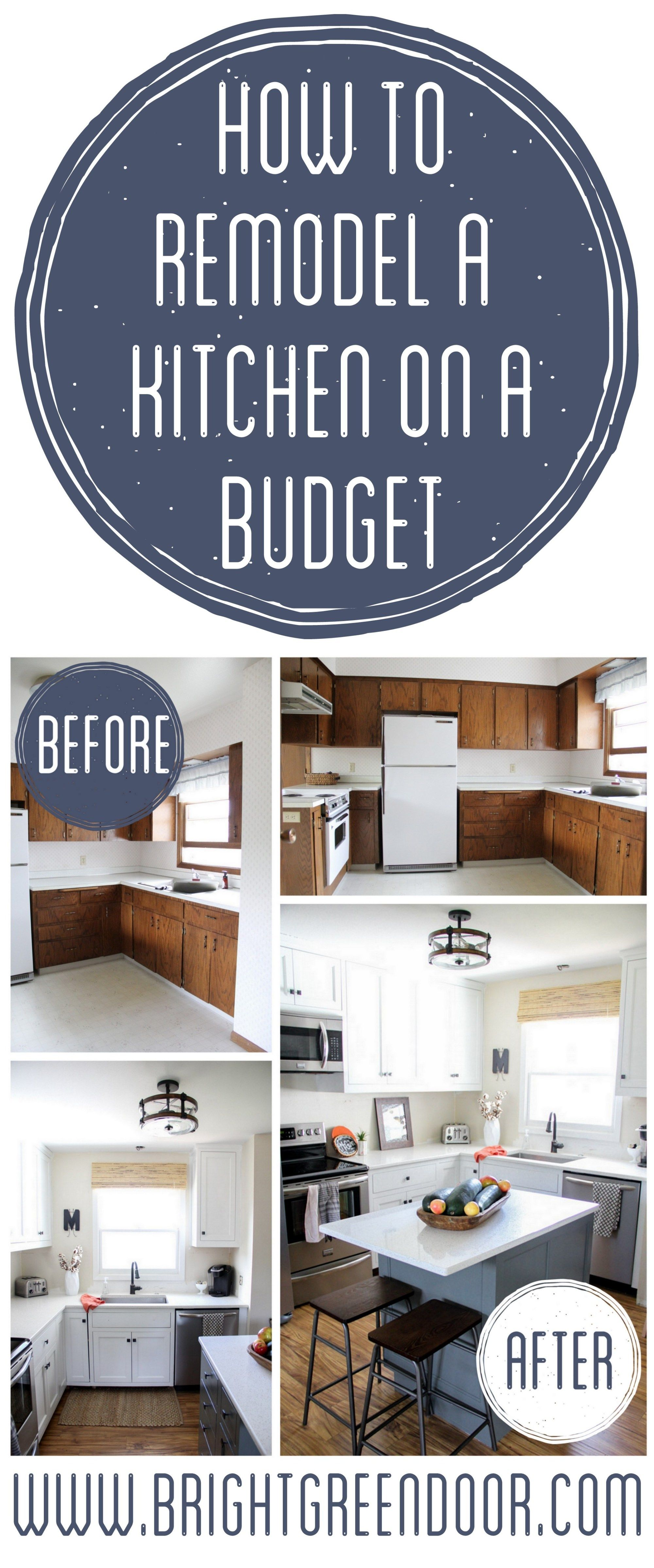 Kitchen Remodel on a Budget | Cheap Home Decor Projects 2 Do ...