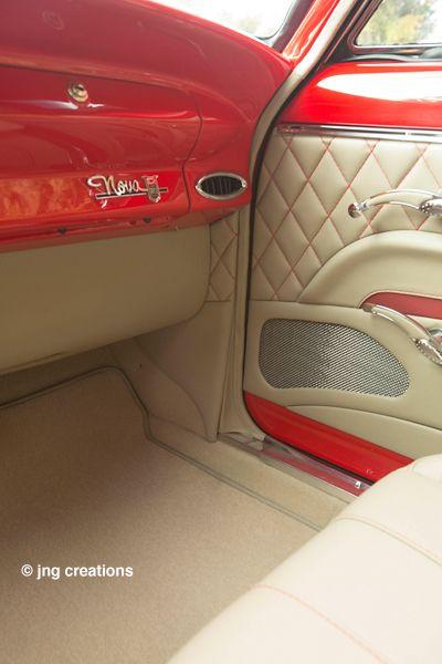 Websta Gabejr25 Custom 55 Chevy Interior Gabescustominteriors Interiors Gabejr Gabes 55chevy Custom Car Interior Automotive Upholstery Truck Interior