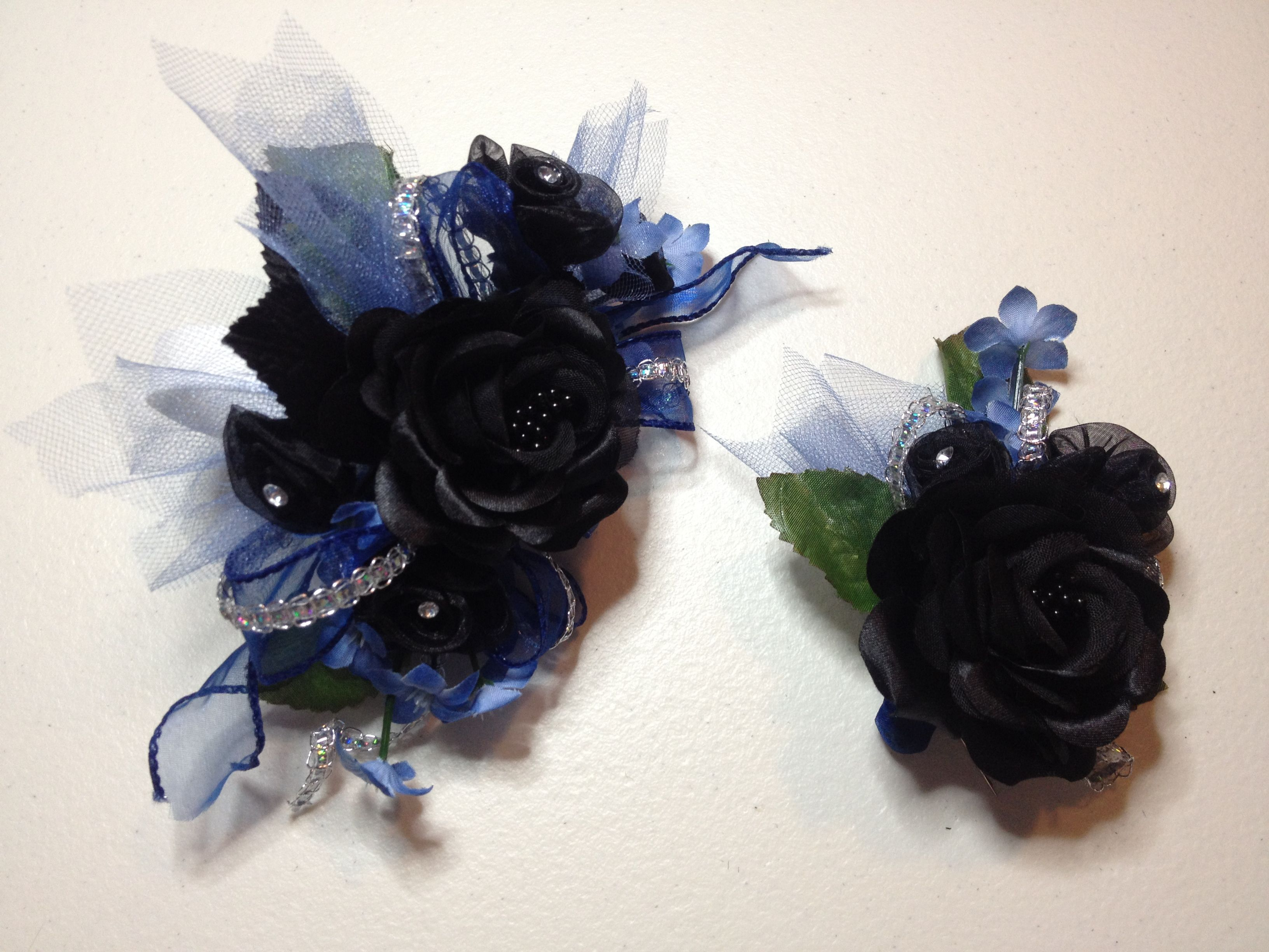 royal blue prom garter corsage boutonniere set prom in 2019