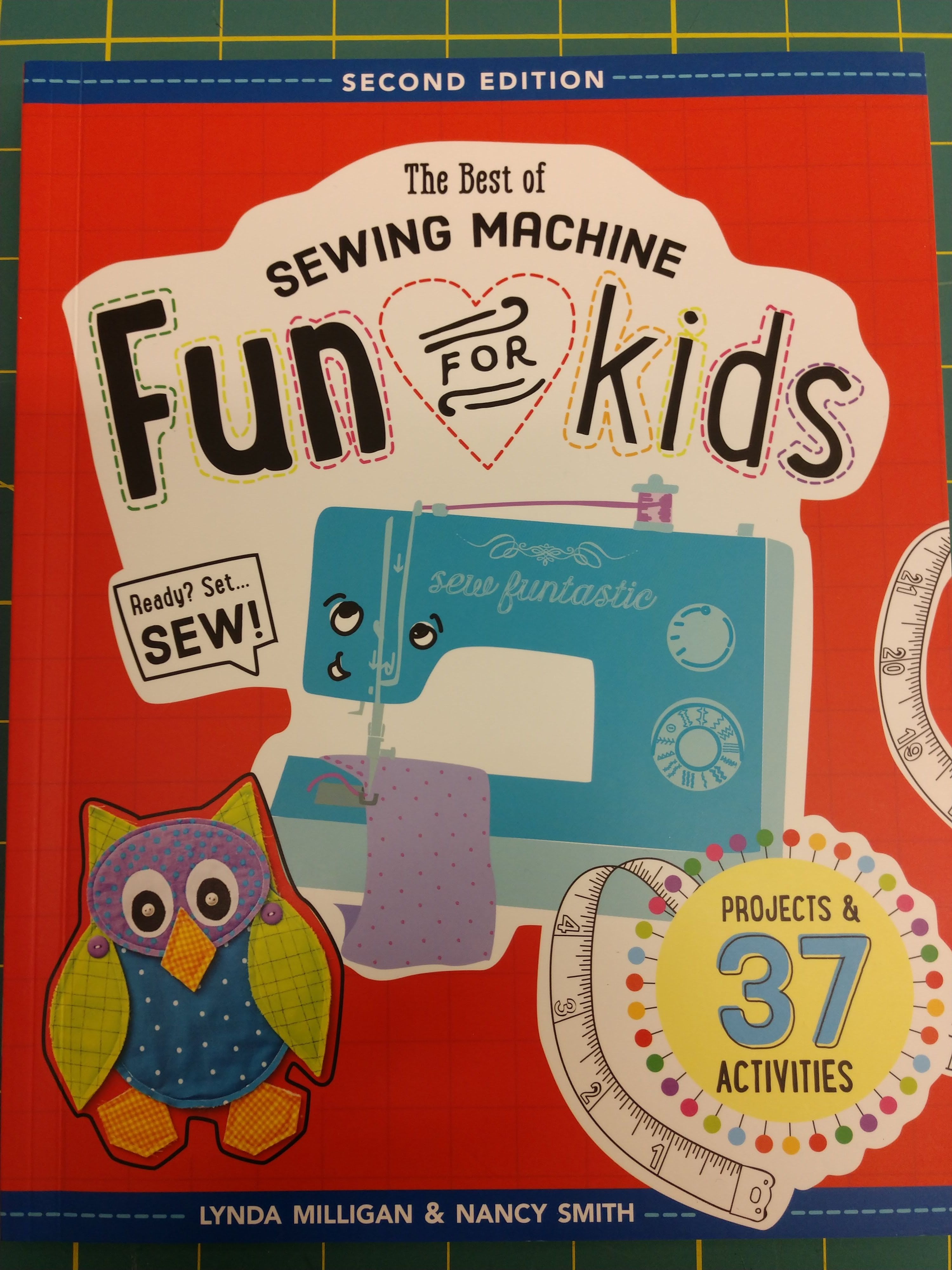 Check out the book we will be using to teach our new Youth Sewing