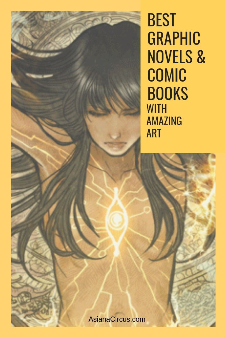 Best Comic Books & Graphic Novels With stunning Art - Asiana Circus #comicbooks