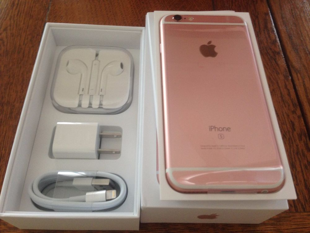 NEW Rose Gold iPhone 6S Plus Factory UNLOCKED TMobile AT&T