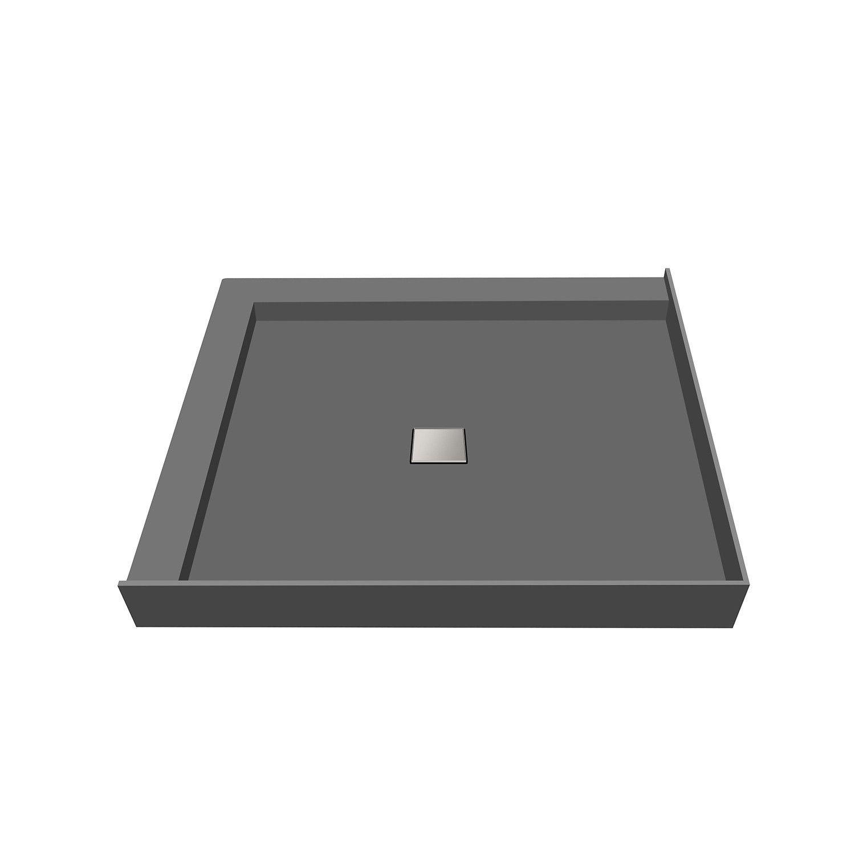Tile Redi 48 D X 48 W Fully Integrated Center Pvc Wonder Drain