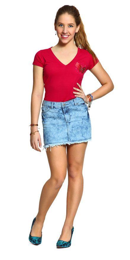 purpngreen.com girls jean skirts (29) #skirts | Dresses & Skirts ...