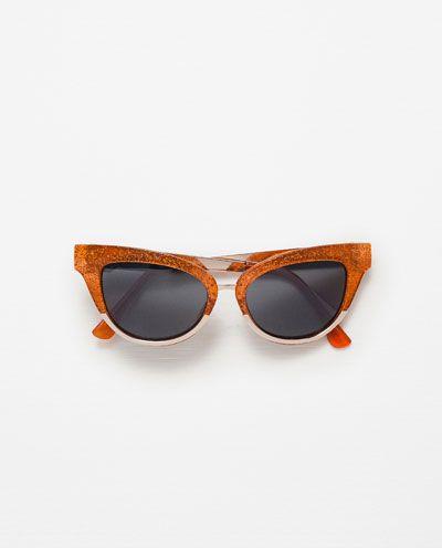 Image 1 of METALLIC SUNGLASSES from Zara