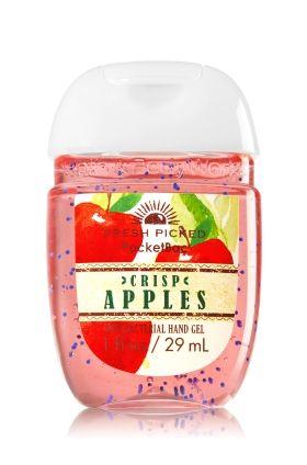 Fresh Picked Apples Pocketbac Sanitizing Hand Gel Bath Body