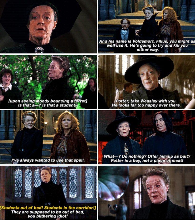 Minerva Mcgonagall Happy Birthday Oct 4th Harry Potter Friends Harry Potter Disney Harry Potter Series