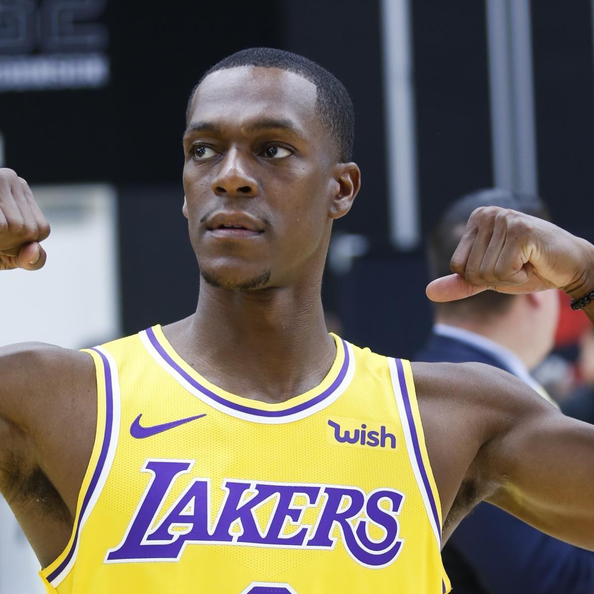 Lakers Rumors Rajon Rondo Not Expected To Return From Injury Vs Raptors Lakers Raptors Injury