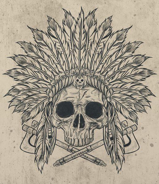 skull print tattoo idea love it raben hexen totenk pfe pinterest coole tattoos. Black Bedroom Furniture Sets. Home Design Ideas