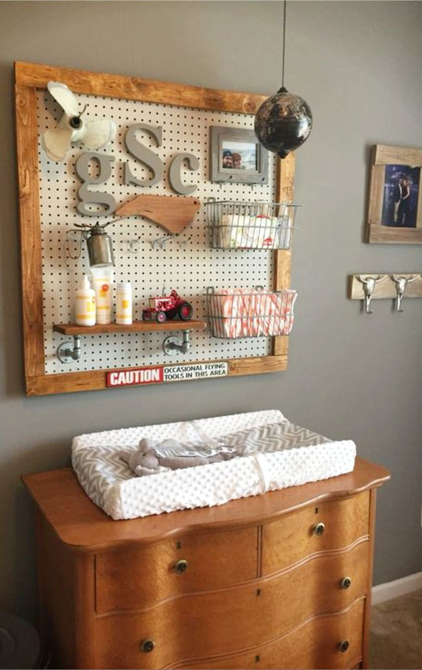 Nursery Ideas And Baby Room For Boy Rustic Super Cute Easy Diy Decorating To Copy