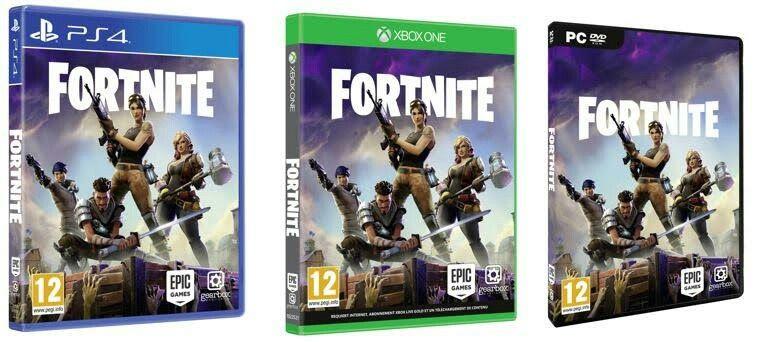 Fortnite Ps4 Et Xbox One Pc Xbox Xbox Xbox One E3 2017
