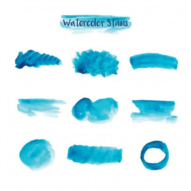 taches d u0026 39 aquarelle bleue en 2019