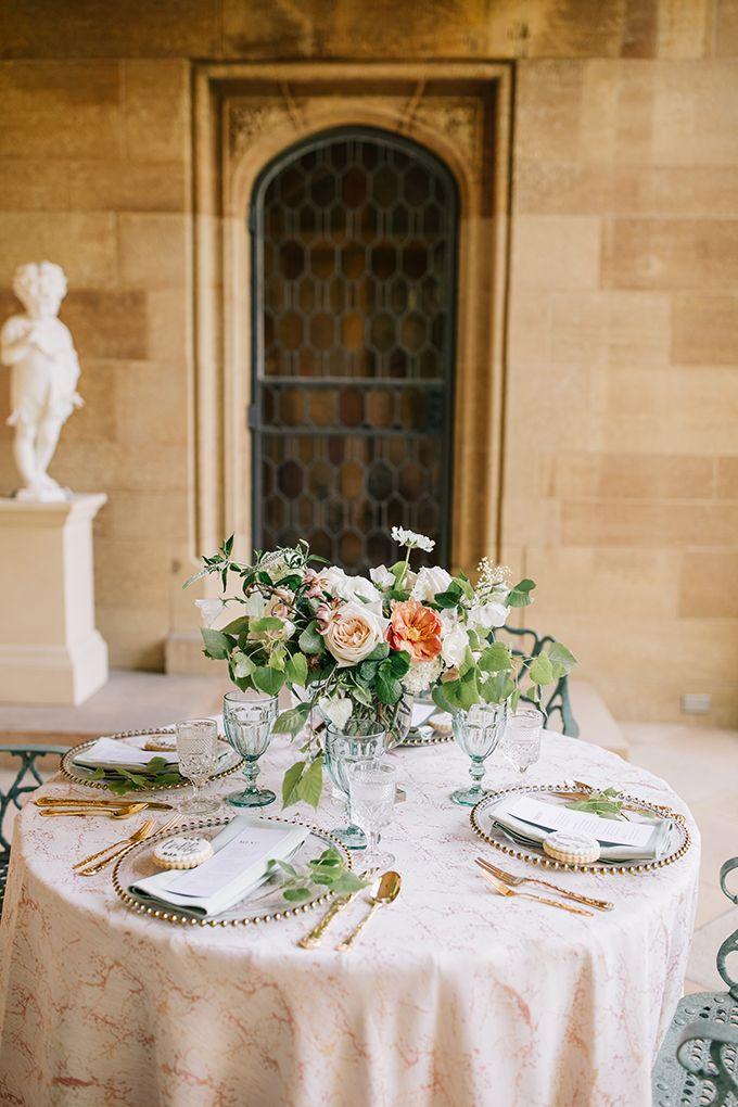 Peach and Sage Garden Wedding Ideas | Sage garden, Floral ...