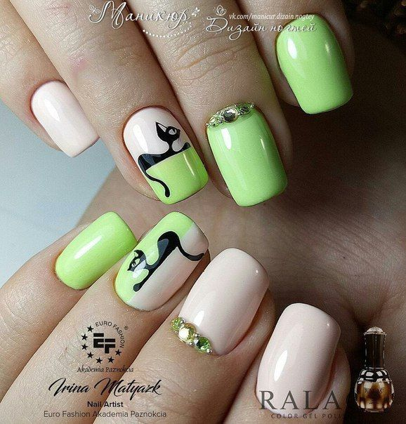 Ногти дизайн 2018 фото | diseños de manicure | Pinterest | Manicuras ...
