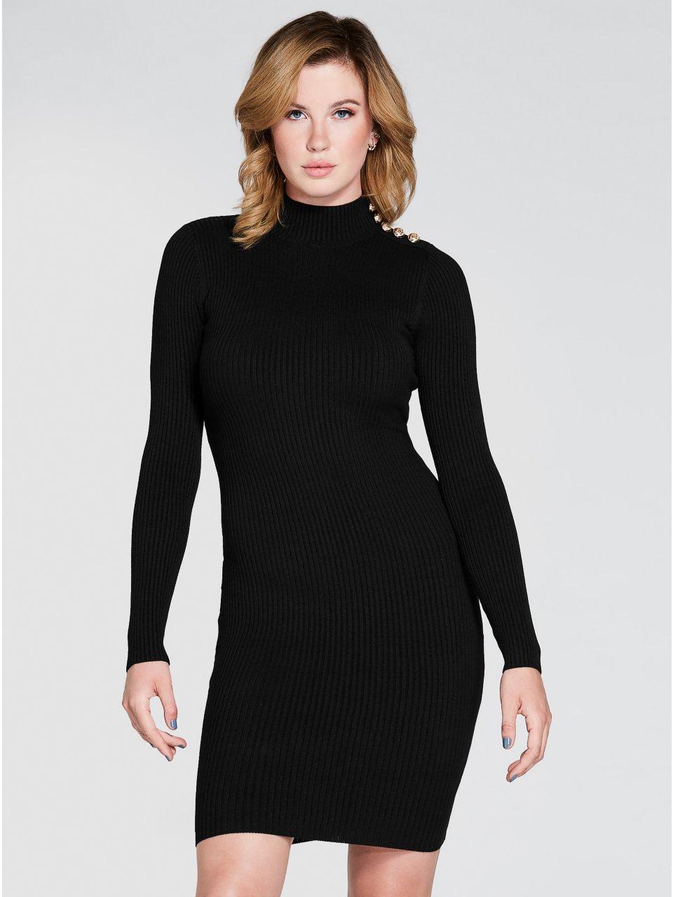 d39c55ff9ac Surha Embellished Sweater Dress