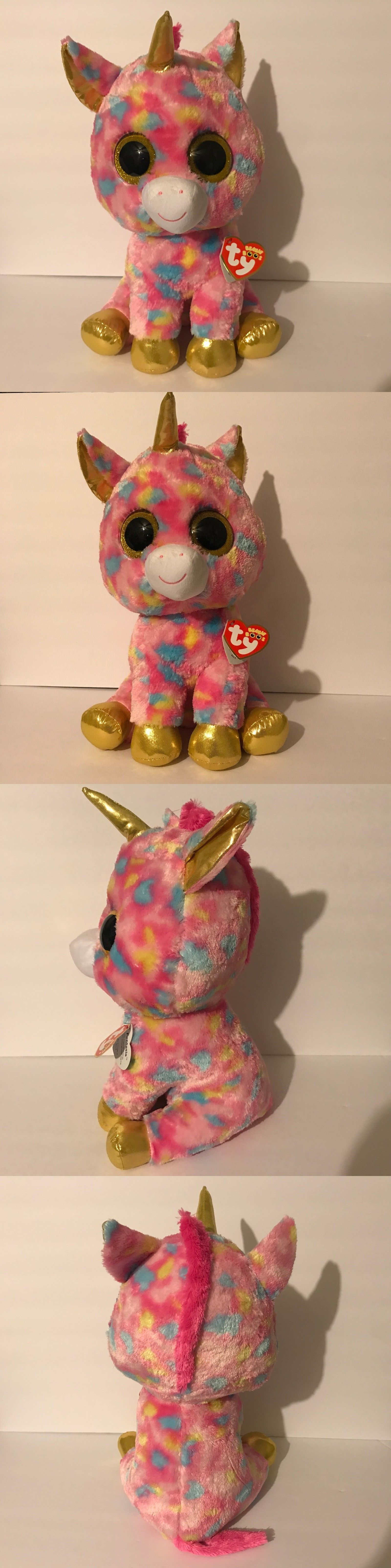 729624846df Ty 19203  Ty Beanie Boos - Fantasia The Unicorn (Glitter Eyes) (Large Big  Size - 17 Inch) -  BUY IT NOW ONLY   19.99 on  eBay  beanie  fantasia   unicorn