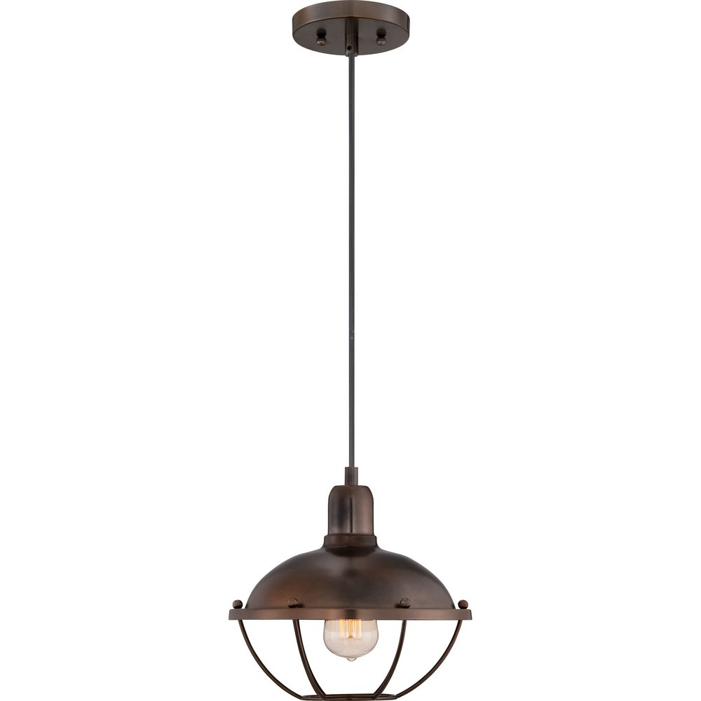 Quoizel heritage mottled bronze finish cord hung mini pendant by heritage mottled bronze finish cord hung mini pendant overstock shopping great deals arubaitofo Image collections