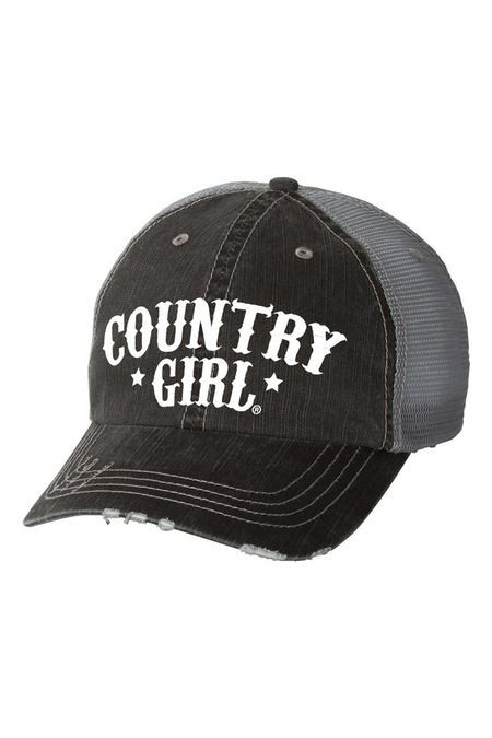 619d8ab0bdd Women s Country Girl® Arched Stars Trucker Cap