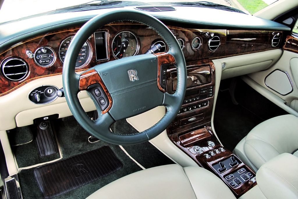 Rolls Royce Silver Seraph Sedan Interior Car Picture Site