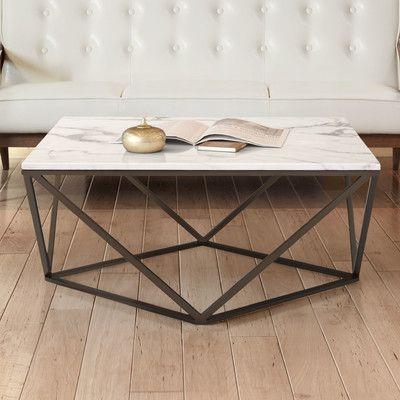 Mercury Row Morison Frame Coffee Table Wayfair In 2020 Coffee Table Decor Home Decor Trends