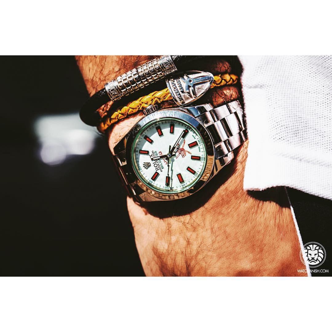 Wrist watch price in oman - Watch Anish Sur Instagram Custom Oman Khanjar Milgauss By Splendoreunique On The Wrist Of