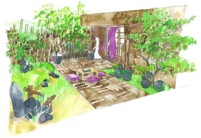 Conseils de paysagiste : un jardin zen | Zen, Jardins et Paysagiste