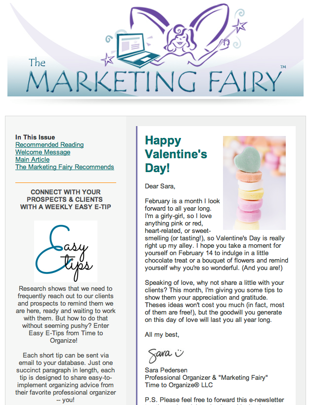 free monthly marketing made easy e newsletter for small business