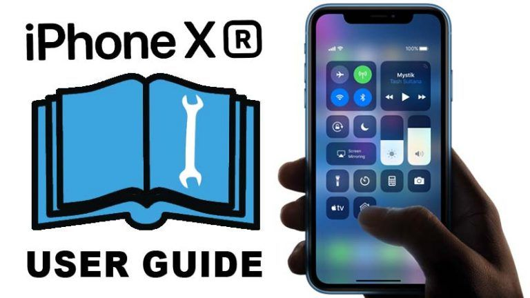 iPhone XR User Guide and Manual Instructions for Beginners