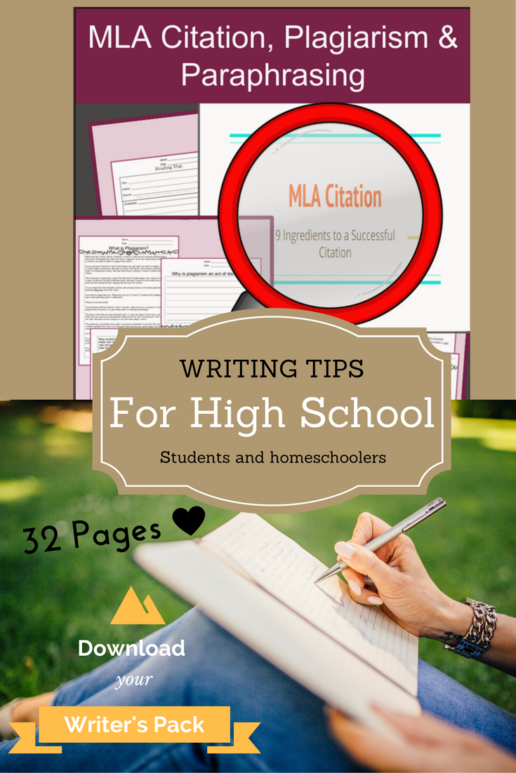 Mla Citation Plagiarism And Paraphrasing Preparing For High School Teaching Writing Teens A Website Paraphrase In Text