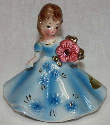 @ Shelly Lynn Vintage Josef Originals Porcelain Birthday